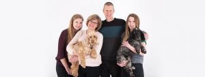 Relaxed No Pressure Pet Friendly Studio Portrait Family Photography - West 70 Photography in Downend, Bristol