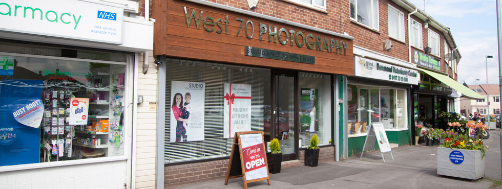 West 70 Photography - Downend Bristol Photography Studio at 9 Cleeve Wood Road, Downend, Bristol, BS16 2SF
